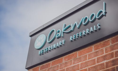 Picture of the Oakwood signage