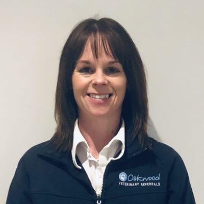 Jacqui Dixon, Client Care Administrator at Oakwood Veterinary Referrals